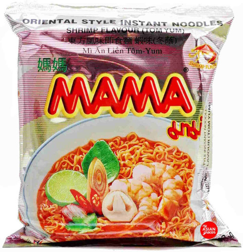 Mama Shrimp Flavour (Tom Yum) Instant Noodles 60g