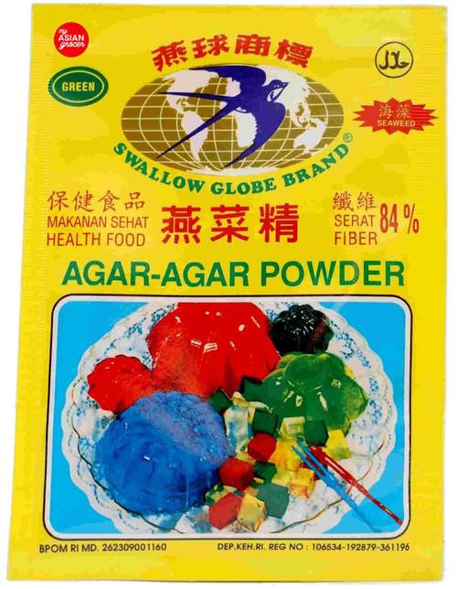 Swallow Globe Brand Agar-Agar Powder (Green) 7g