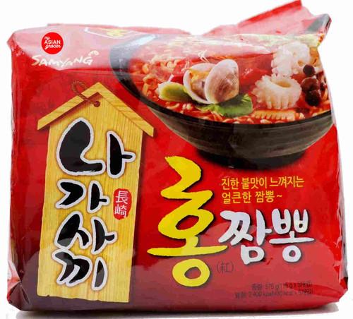 Samyang Nagasaki Champong Spicy 115g x 5 Pack