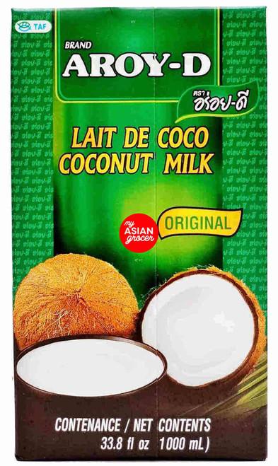Aroy-D Coconut Milk Original 1000ml