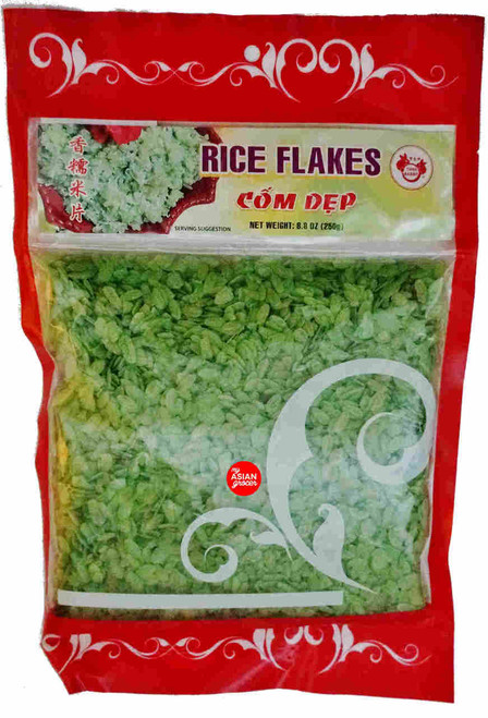 Twin Rabbit Rice Flakes Com Dep (Green) 250g
