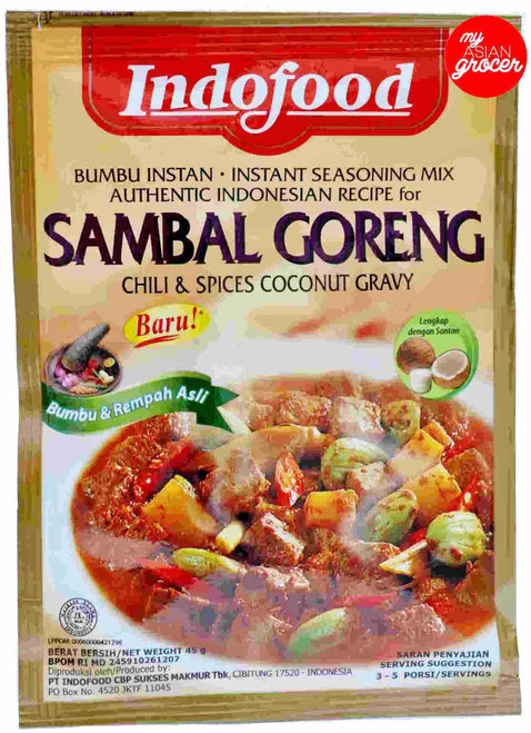 Indofood Sambal Goreng Instant Seasoning Mix 45g