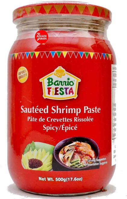 Barrio Fiesta Sauteed Shrimp Paste (Spicy) 500g