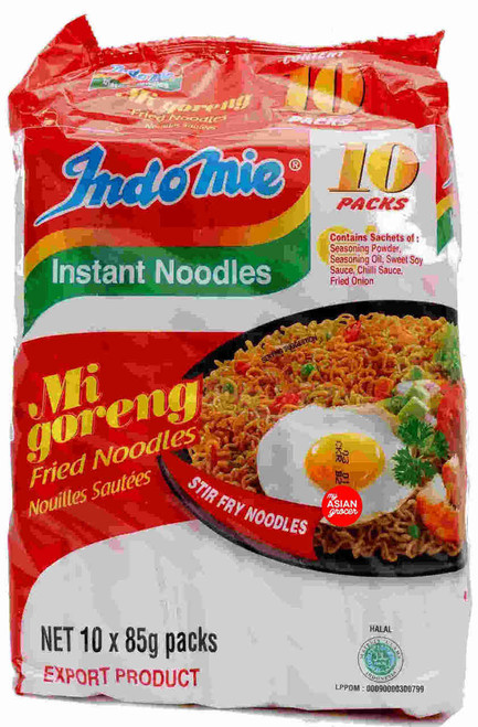 Indomie Migoreng Fried Noodles 85g x 10 Pack