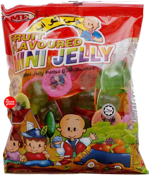 Yame Fruit Flavoured Mini Jelly 16g x 50 pcs