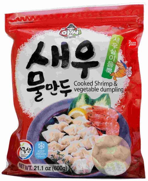 Assi Cooked Shrimp & Vegetable Dumpling 600g