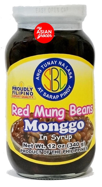 SBC Red Mung Beans in Syrup 340g