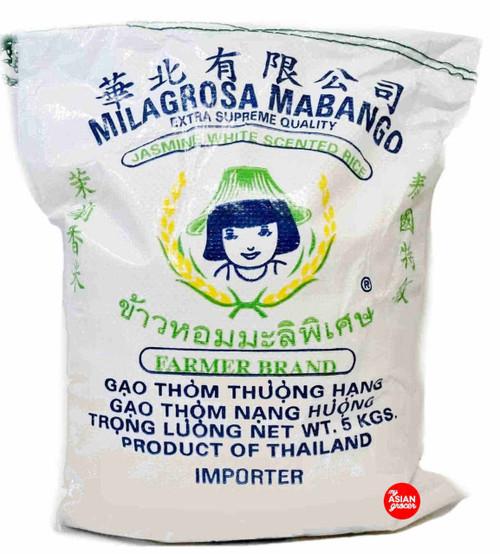 Farmer Brand Jasmine White Scented Rice 5kg