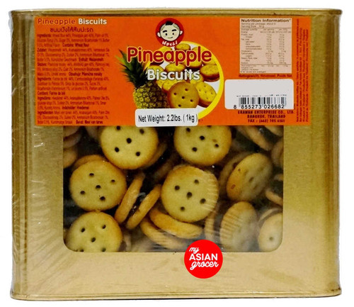Hoshi Pineapple Biscuits (Round) 1kg