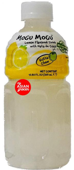 Mogu Mogu Lemon Flavoured Drink with Nata De Coco 320ml