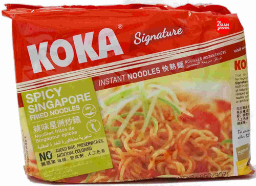 Koka Signature Spicy Singapore Fried Noodles 85g x 5 Pack