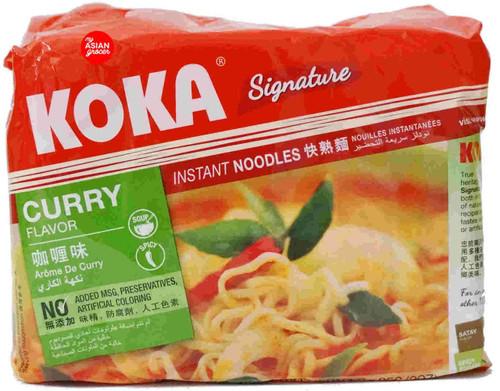 Koka Signature Curry Flavor Instant Noodles 85g x 5 Pack
