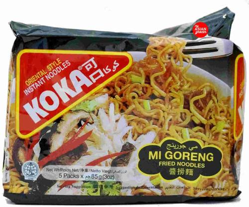 Koka Mi Goreng Fried Noodles 85g x 5 Pack