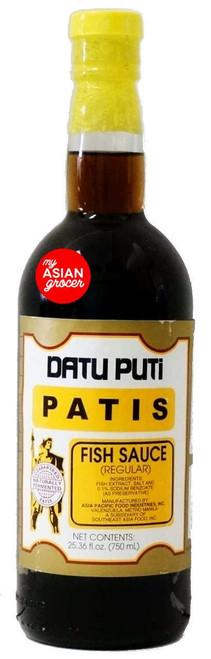 Datu Pati Patis Fish Sauce (Regular) 750ml