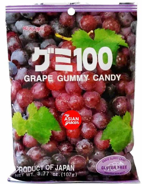 Kasugai Grape Gummy Candy 107g