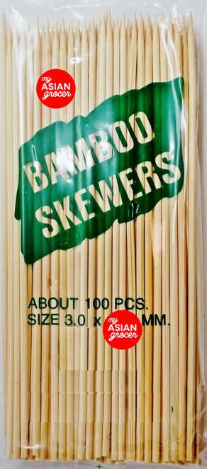 Bamboo Skewers x 100 Sticks
