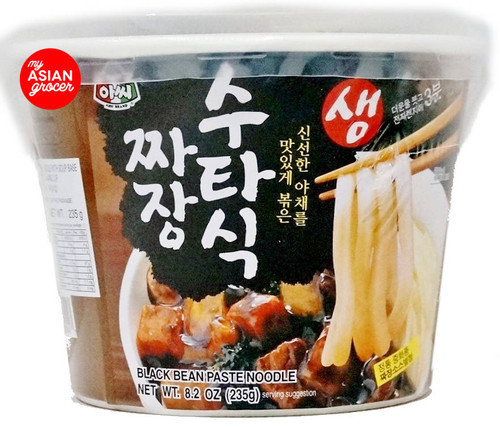 Assi Black Bean Paste Noodle Cup 235g