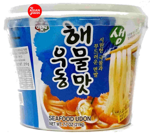 Assi Japanese Style Seafood Udon With Soup Base 219g