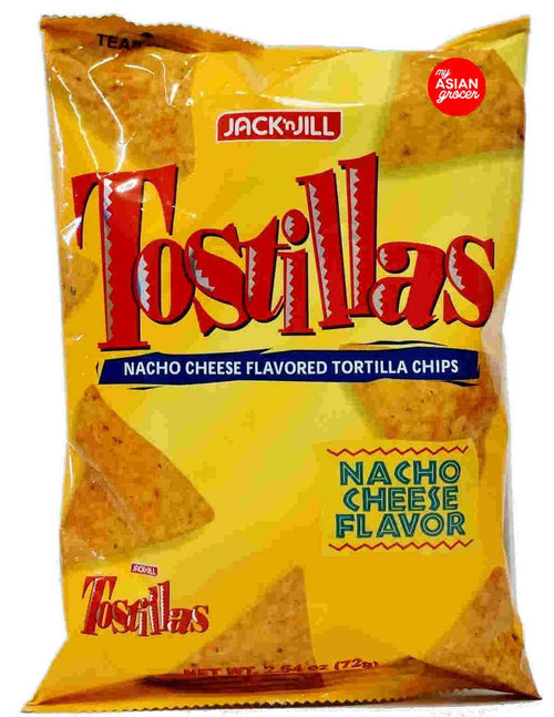 Jack'n Jill Tostillas Nacho Cheese Tortilla Chips 72g