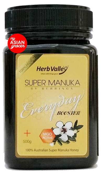 Herb Valley Super Manuka By Berringa Everyday Booster MGO 60+ 500g