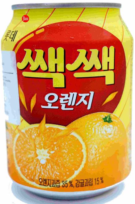 Lotte Sec Sec Orange Drink 238ml