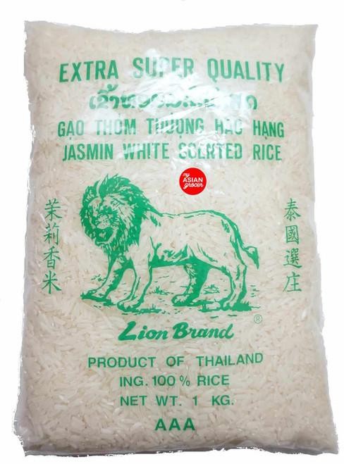 Lion Brand Jasmin White Scented Rice 1kg