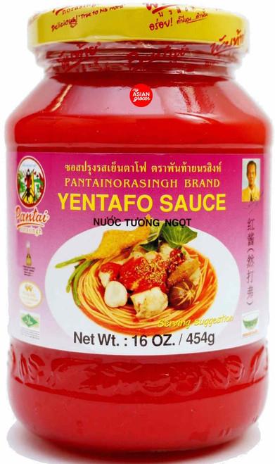 Pantainorasingh Brand Yentafo Sauce 454g