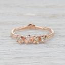 rough diamond wedding ring