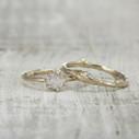 twig diamond engagement ring
