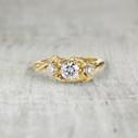 diamond ring for nature-lover