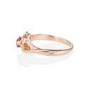 nature inspired split shank ring