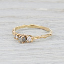 rough cut diamond ring for her