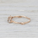 nature inspired engagement ring for her