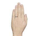 men's birch bark nature wedding ring