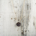 nature inspired diamond necklace