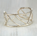nature inspired cuff bracelet