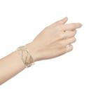 wide branch cuff bracelet
