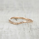 diamond twig wedding ring
