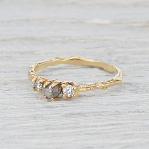 yellow gold melissa brides bridescom cut manning large rough raw joy in carat set clear editorial images rings engagement ring gallery diamond
