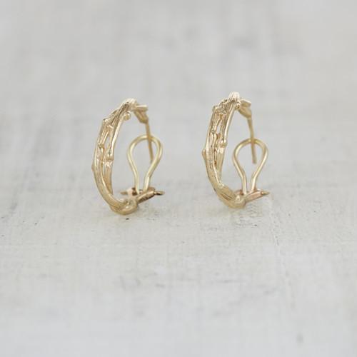 nature inspired earrings for her