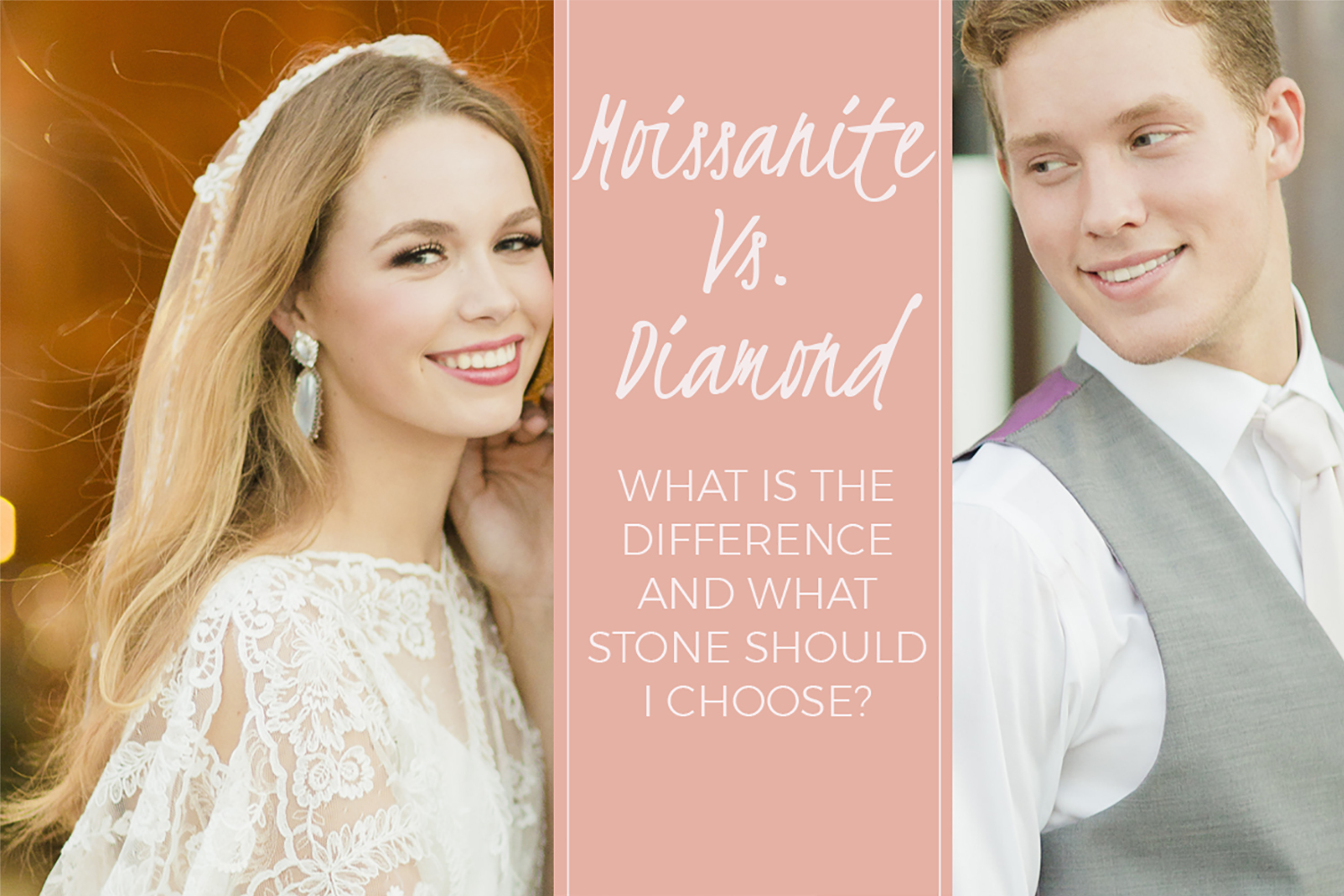 Moissanite or Diamond... Which One Should I Choose??