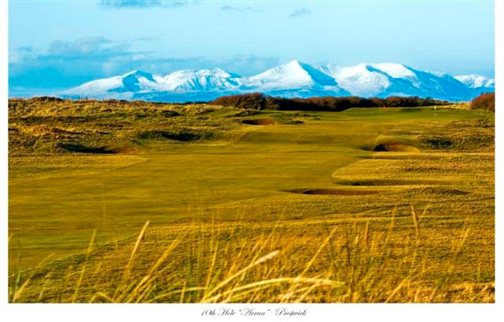 10th Hole, Prestwick Golf Club Photograph by Robert Mitchell