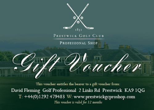 Pro Shop Gift Voucher (Starting from £25)