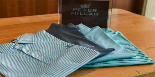 Peter Millar 2018 range lands at Prestwick Golf Club Professional Shop