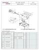 German Knife GS-12M - Meat & Deli Slicer Parts List