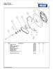 ProCut KSDS-12 Meat & Deli Slicer Parts List