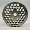 "#12 Meat Grinder Plate with 1/4' Holes - ""Reversible Plate"" - 104130"