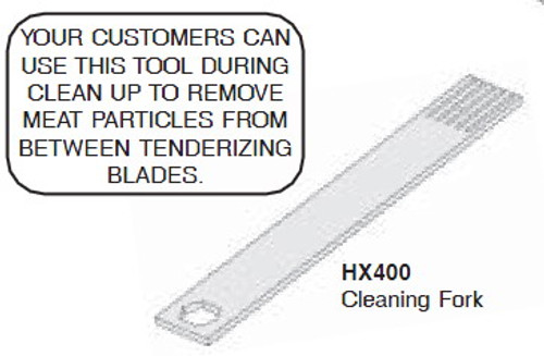 Hobart Cleaning Fork - HX400
