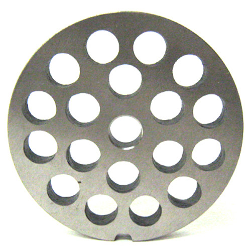 #22 Meat Grinder Plate with 1/2'' Holes