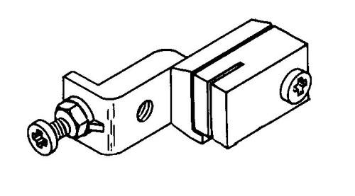 Biro Saw - Upper Guide & Bracket Assembly - 11,22,1433,33,34,3334,44,4436 - B055A-601